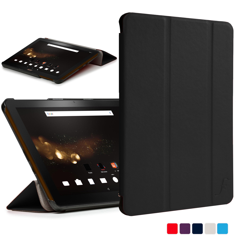 forefront cases folding smart case cover stand for acer. Black Bedroom Furniture Sets. Home Design Ideas