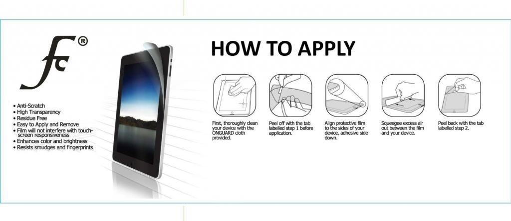 Forefront-Cases-Apple-iPad-Mini-1-2-3-Screen-Protectors-Shield-Guard-Film miniatuur 8