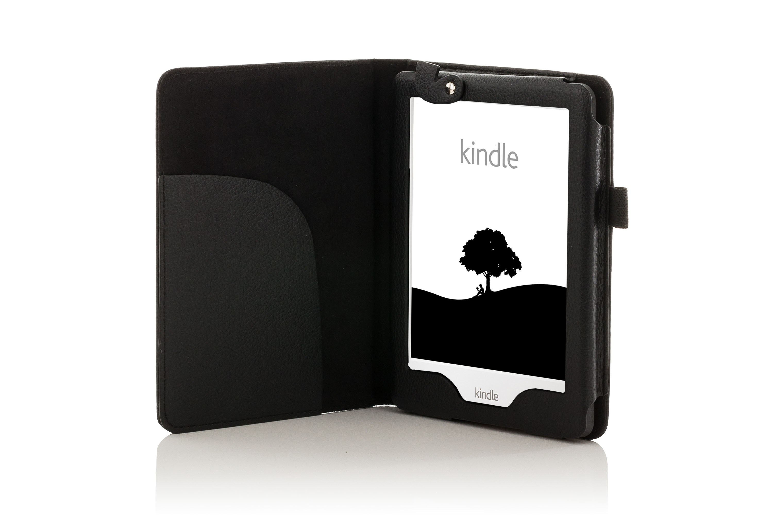 forefront cases® leather case cover with led light amazon kindle  - forefrontcasesleathercasecoverwithledlight