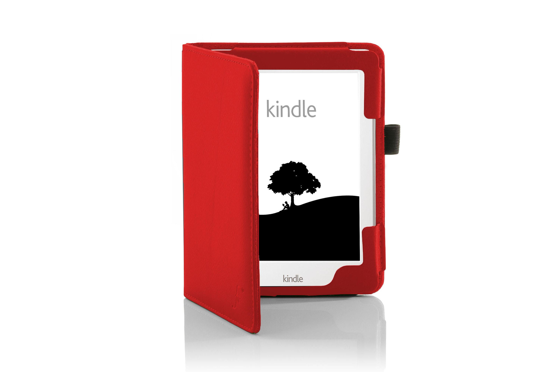Forefront carcasas piel rojo funda amazon kindle 2016 protector de pantalla ebay - Fundas kindle amazon ...