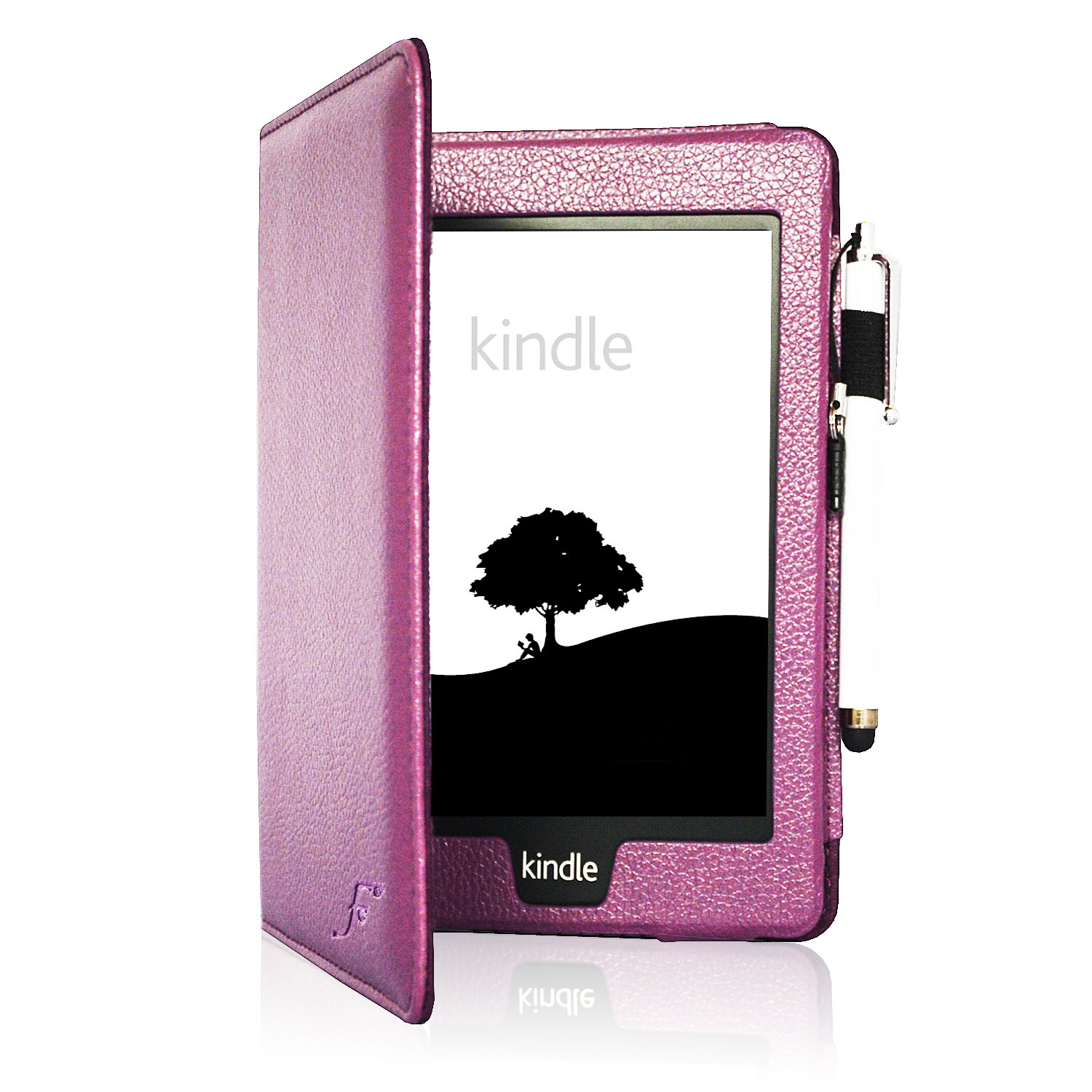 Leather strap smart case cover for amazon kindle for Amazon casa