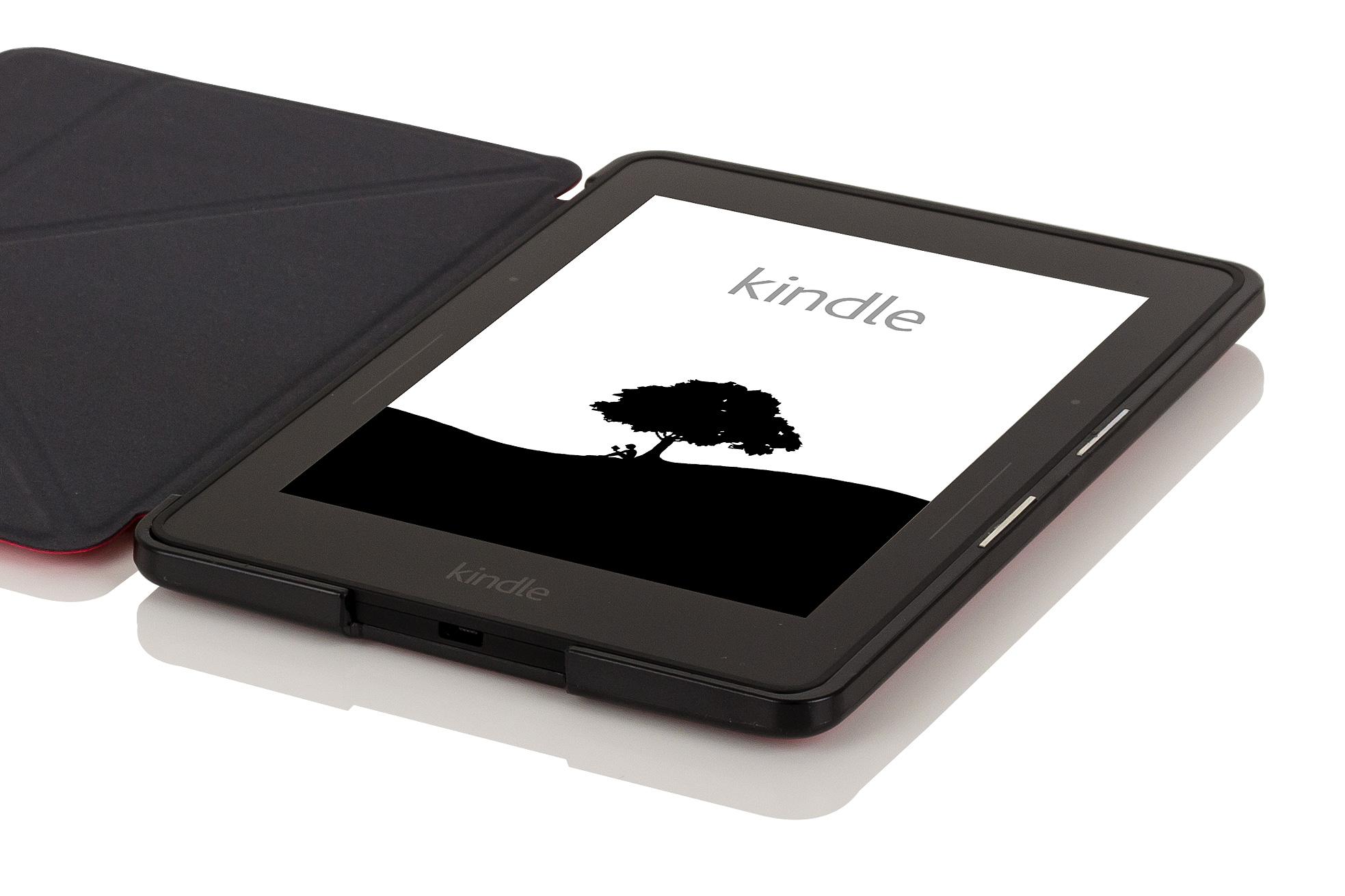 Leather smart origami case cover for amazon kindle voyage ebay - Fundas kindle amazon ...