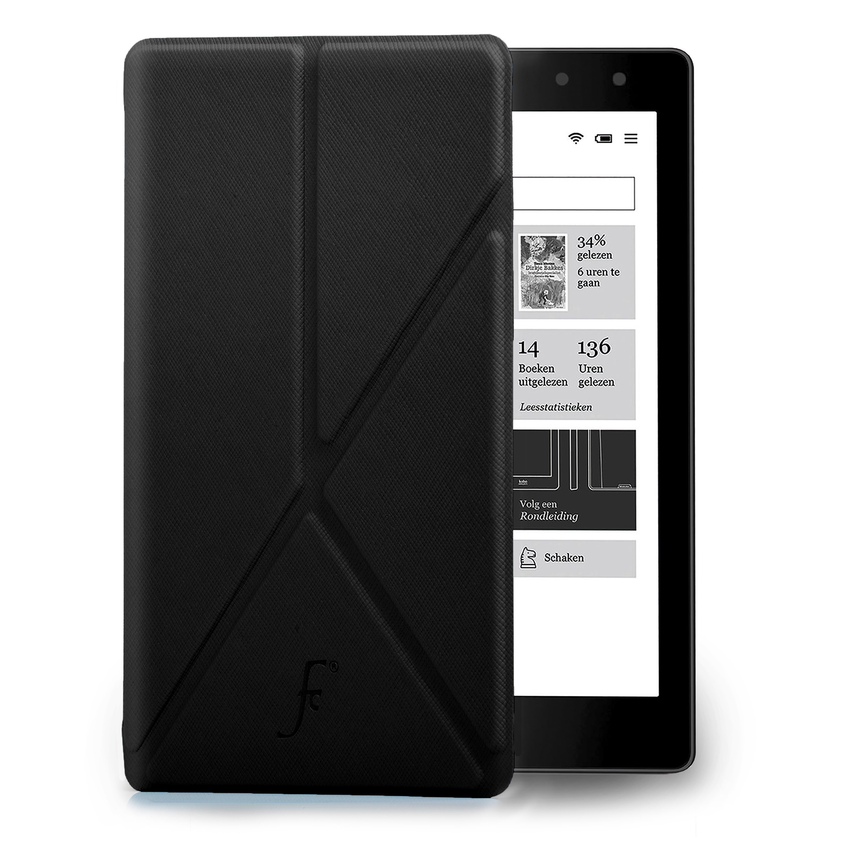 Forefront cases smart origami case cover wallet for kobo for Housse kobo aura