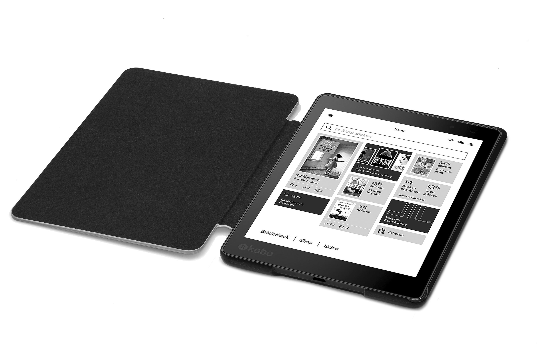 Forefront cases smart shell case cover wallet for kobo for Housse kobo aura