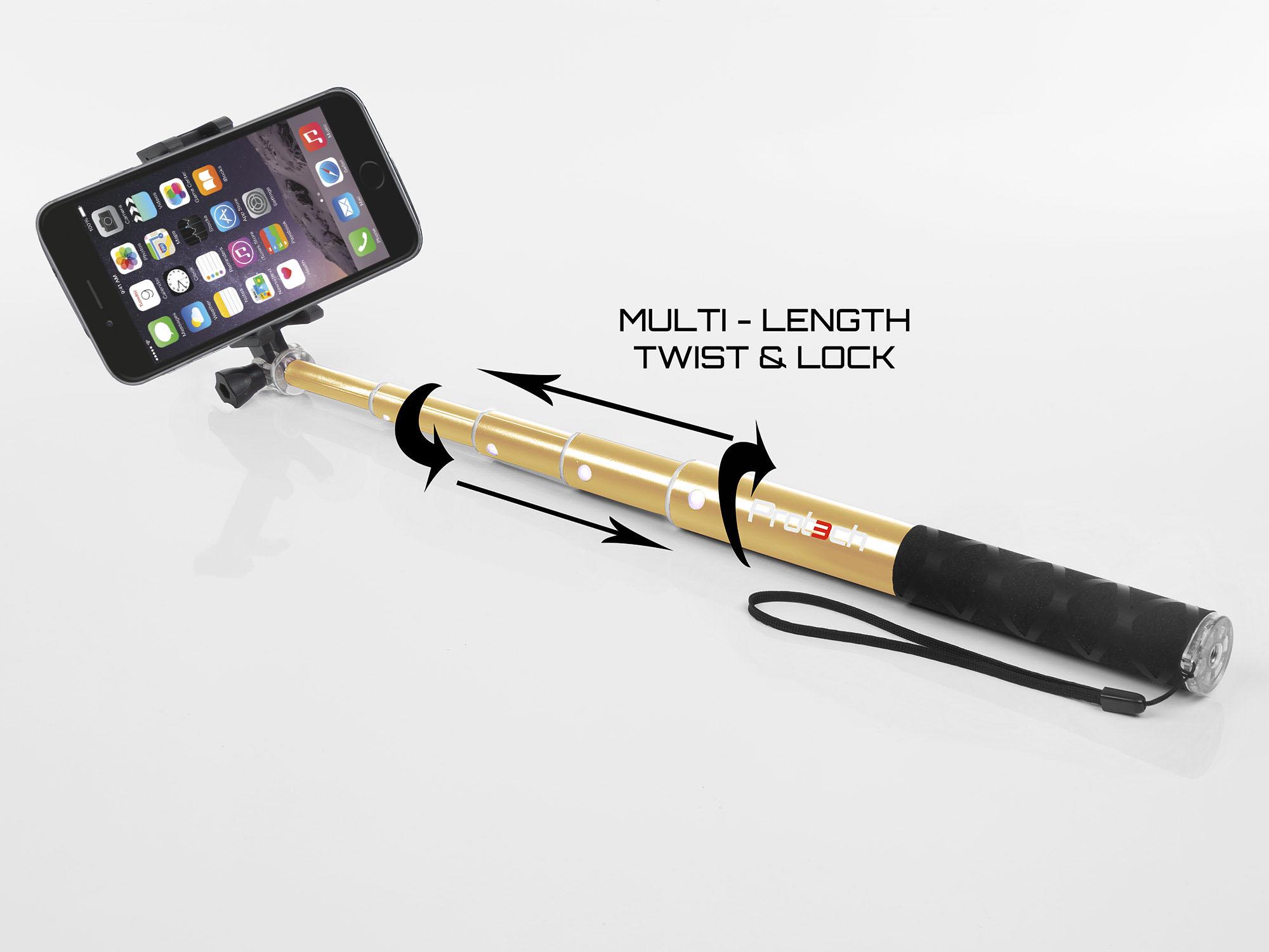 apple iphone monopod selfie stick 60cm telescopic compact bluetooth tripod. Black Bedroom Furniture Sets. Home Design Ideas