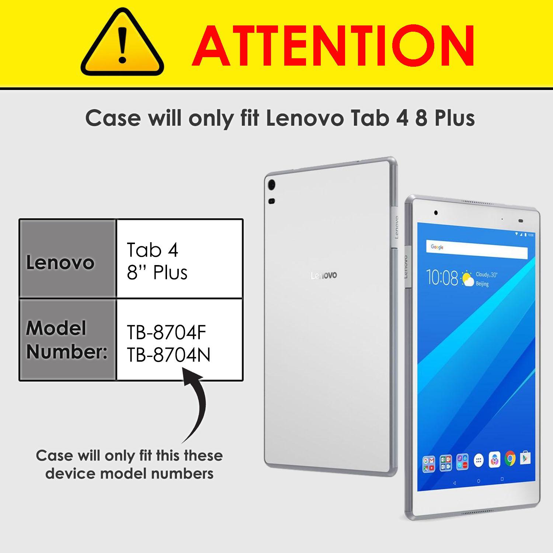 Lenovo-Tab-4-8-Plus-Case-Stand-Cover-for-Lenovo-Tab-4-8-Plus-Auto-Sleep-Wake thumbnail 4