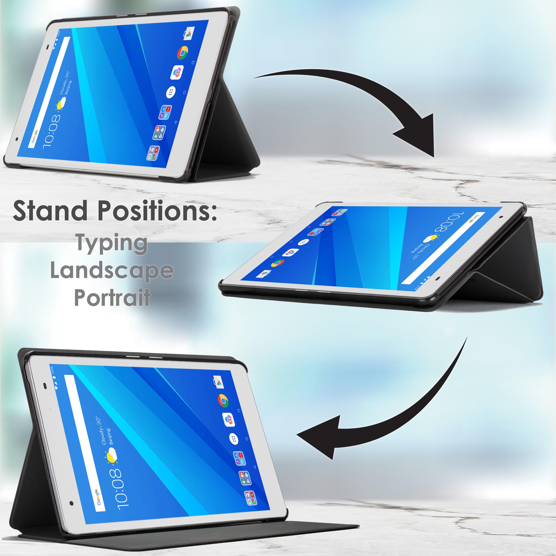 Lenovo-Tab-4-8-Plus-Case-Stand-Cover-for-Lenovo-Tab-4-8-Plus-Auto-Sleep-Wake thumbnail 44