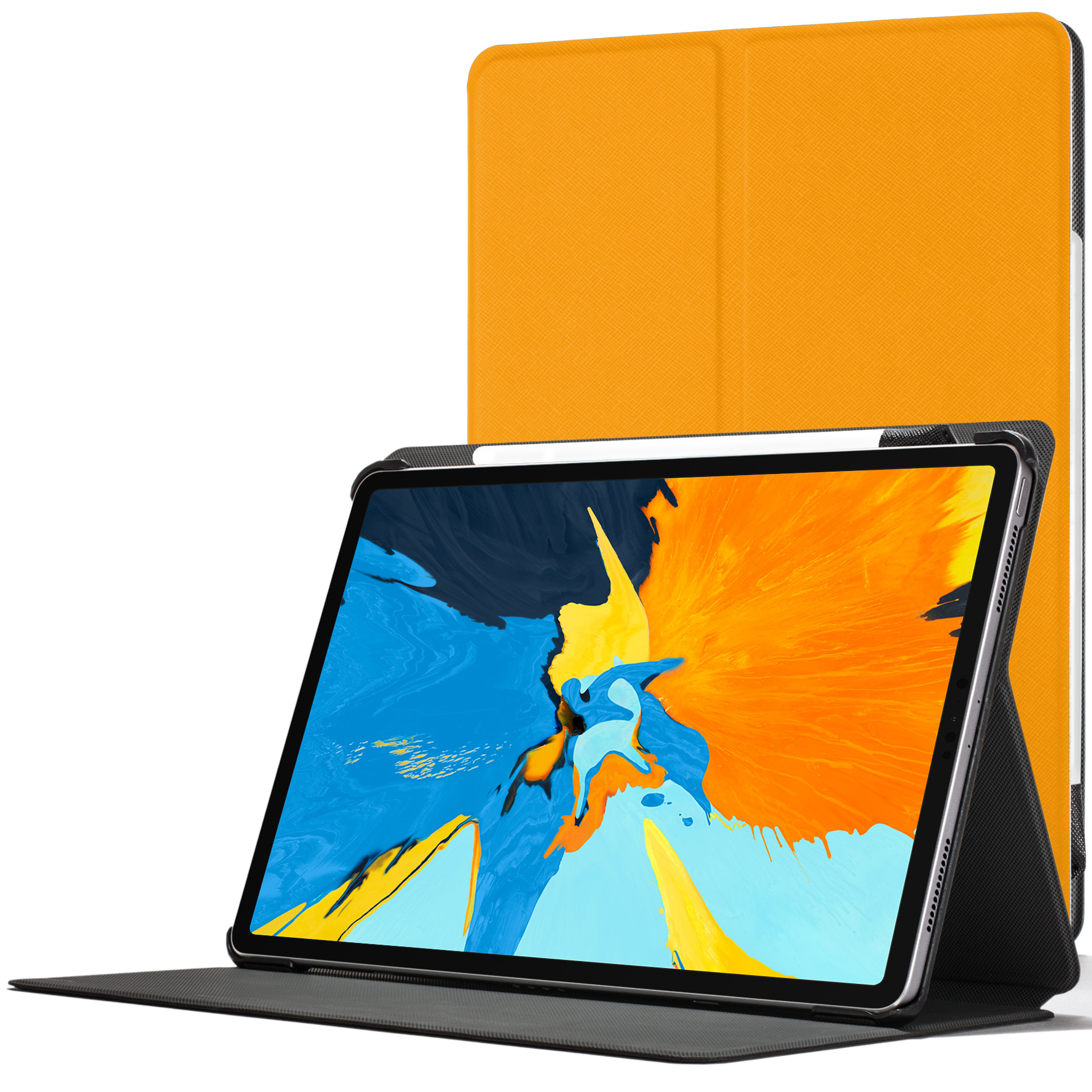 online store 9e864 bb2a8 Details about Apple iPad Pro 11 inch 2018 Smart Case | Protective Case  Cover Stand | Yellow