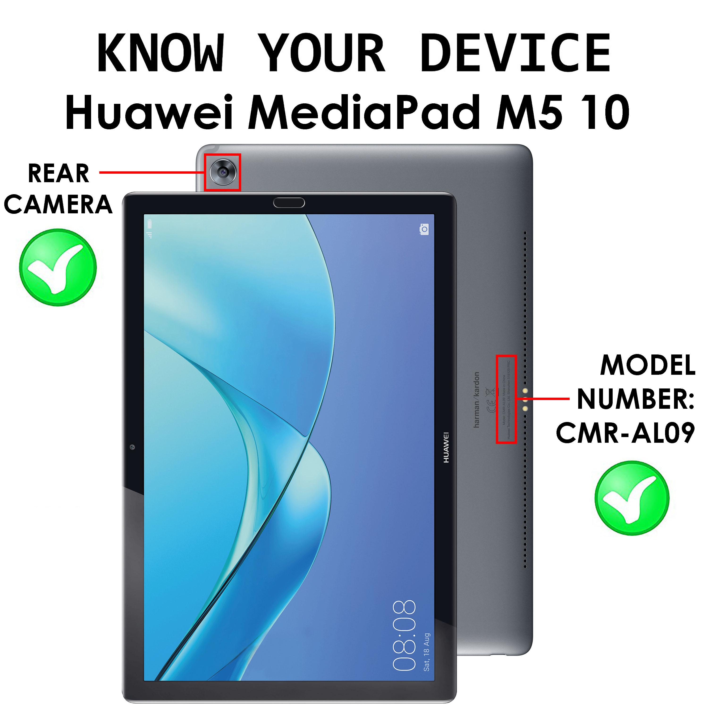 Huawei MediaPad M5 10 Custodia Smart Cover Huawei M5 10.8