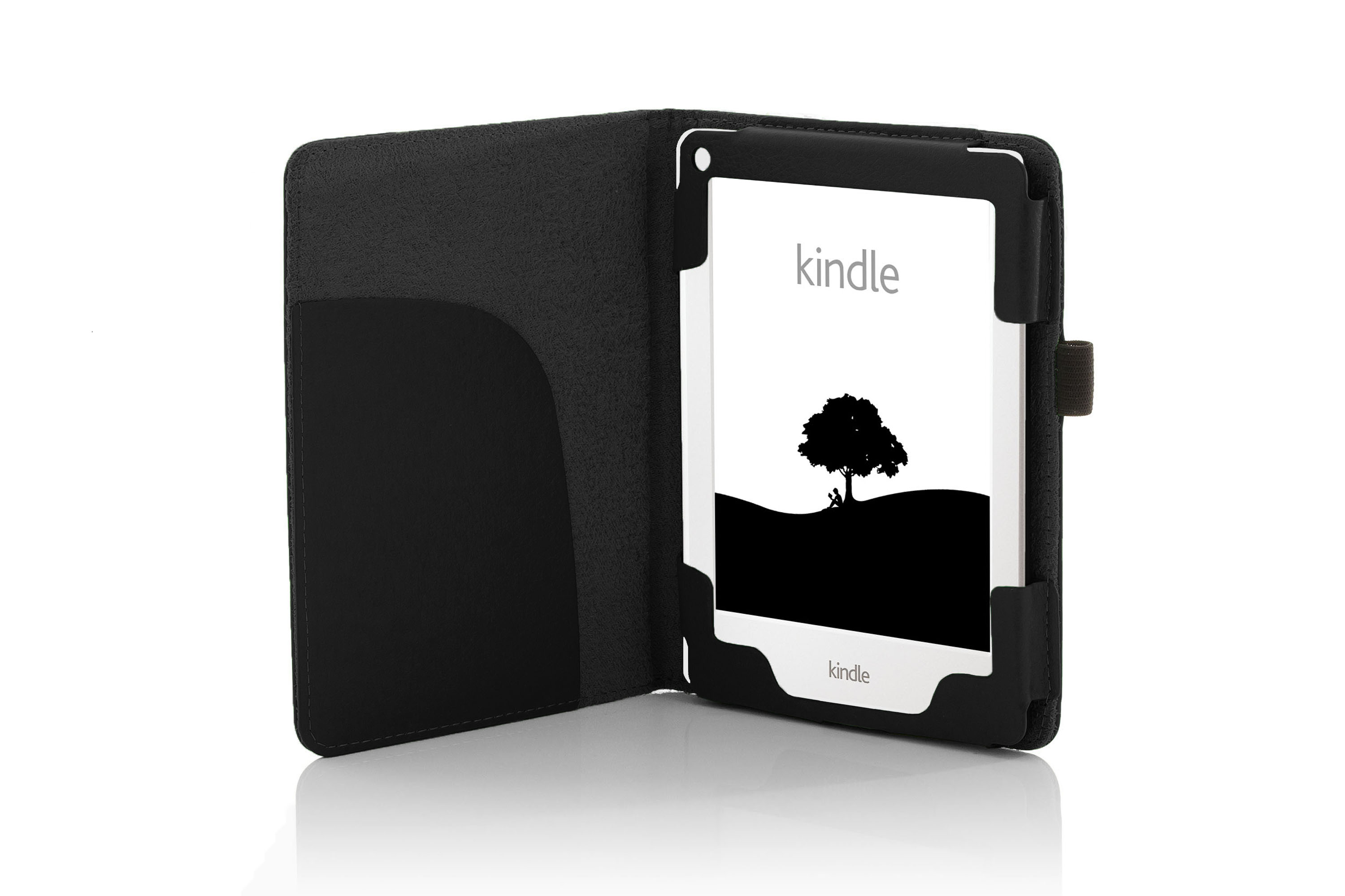 Kindle 2 Case: Forefront Cases® Leather Shell Case Cover Wallet Sleeve