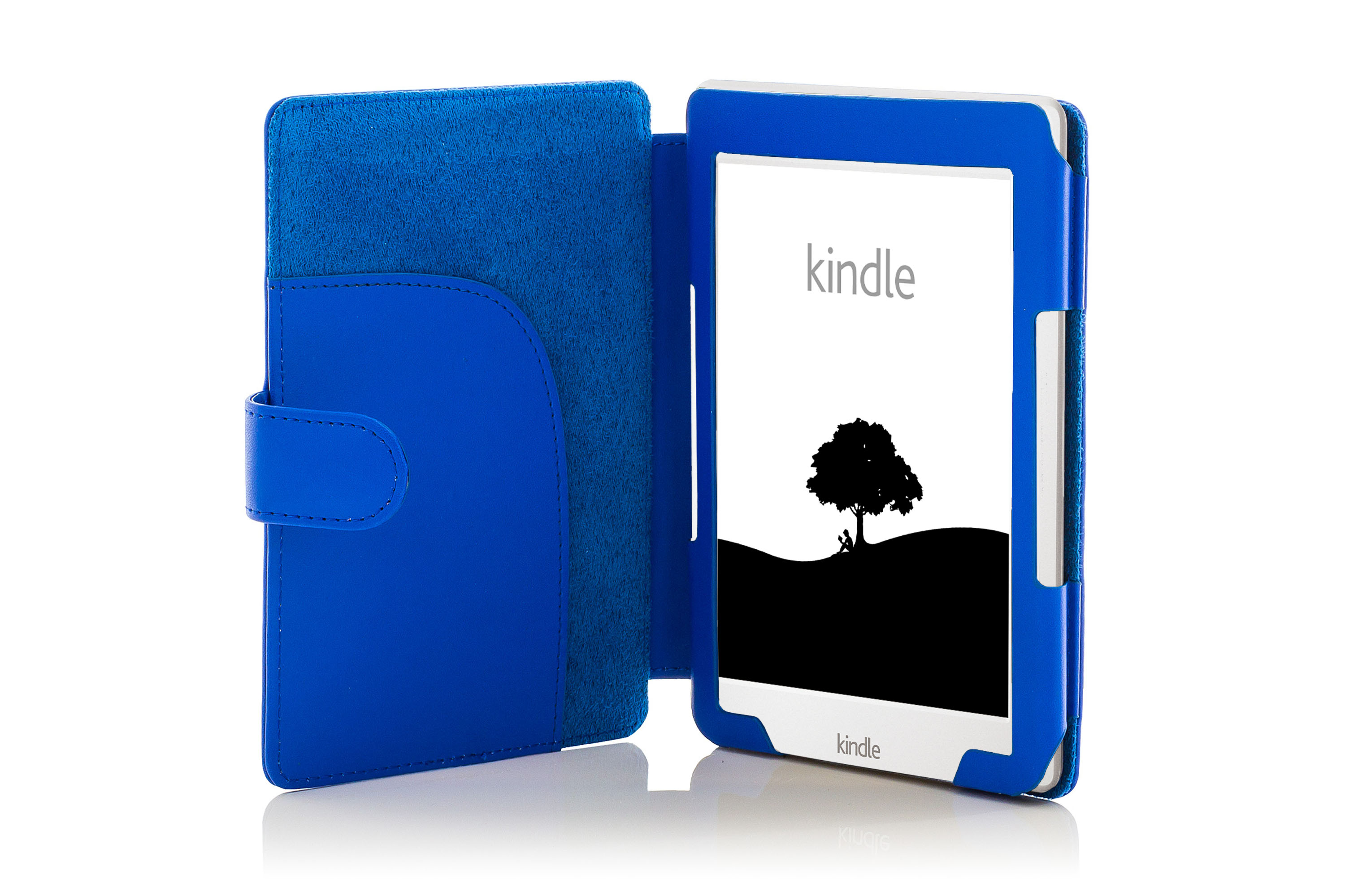 Forefront Cases® Leather Blue Case Cover With Light Amazon