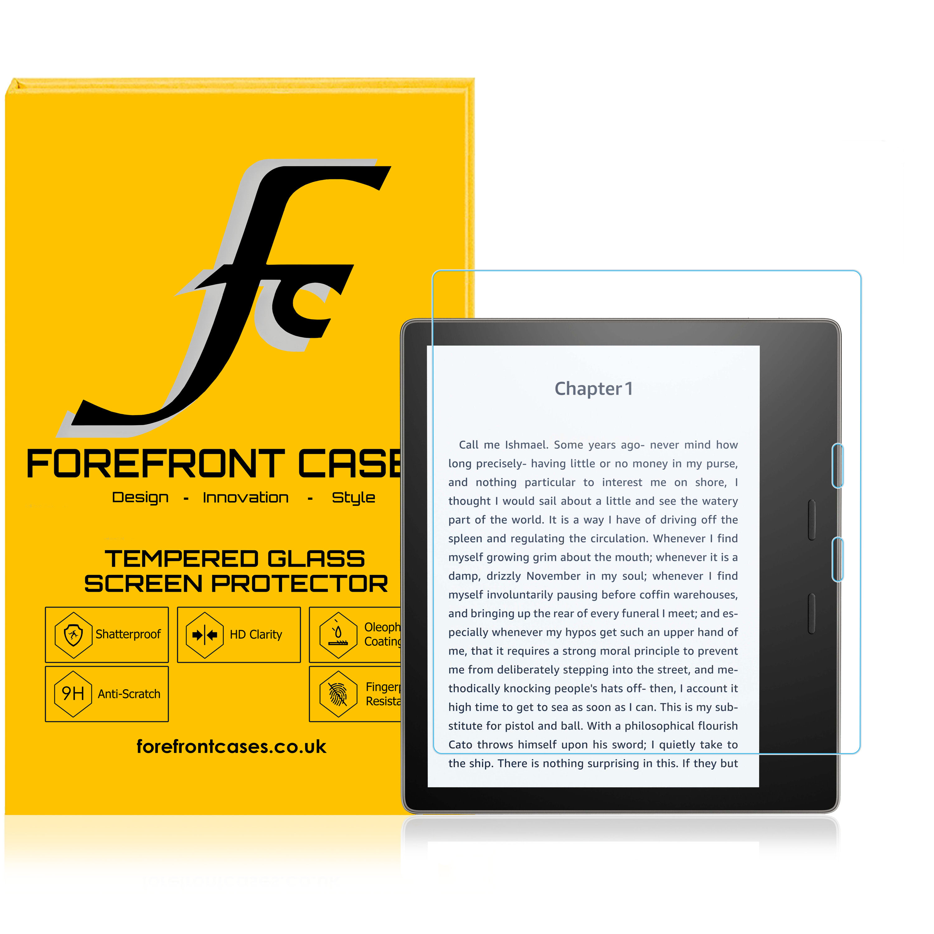 """9H Tempered Glass Film Screen Protector For E-reader Amazon 6/"""" Kindle Oasis 2016"""