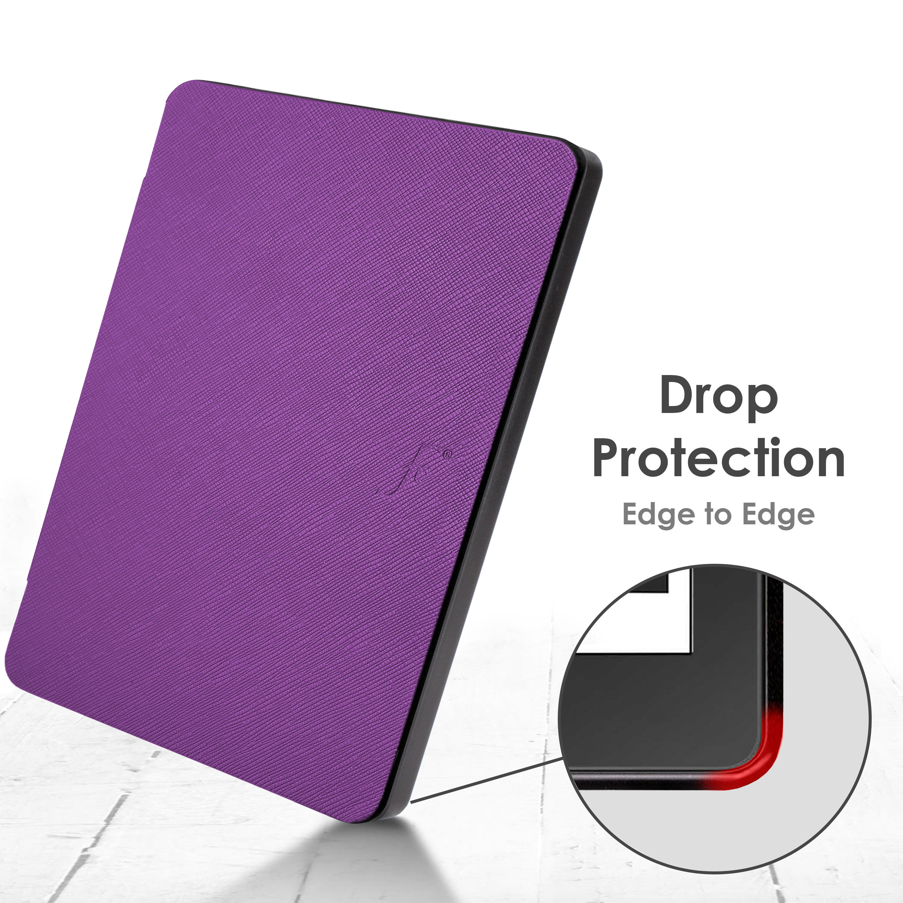 Kindle-Paperwhite-2018-Case-Smart-Protective-Cover-Case-Slim-Lightweight-Shell miniatuur 54