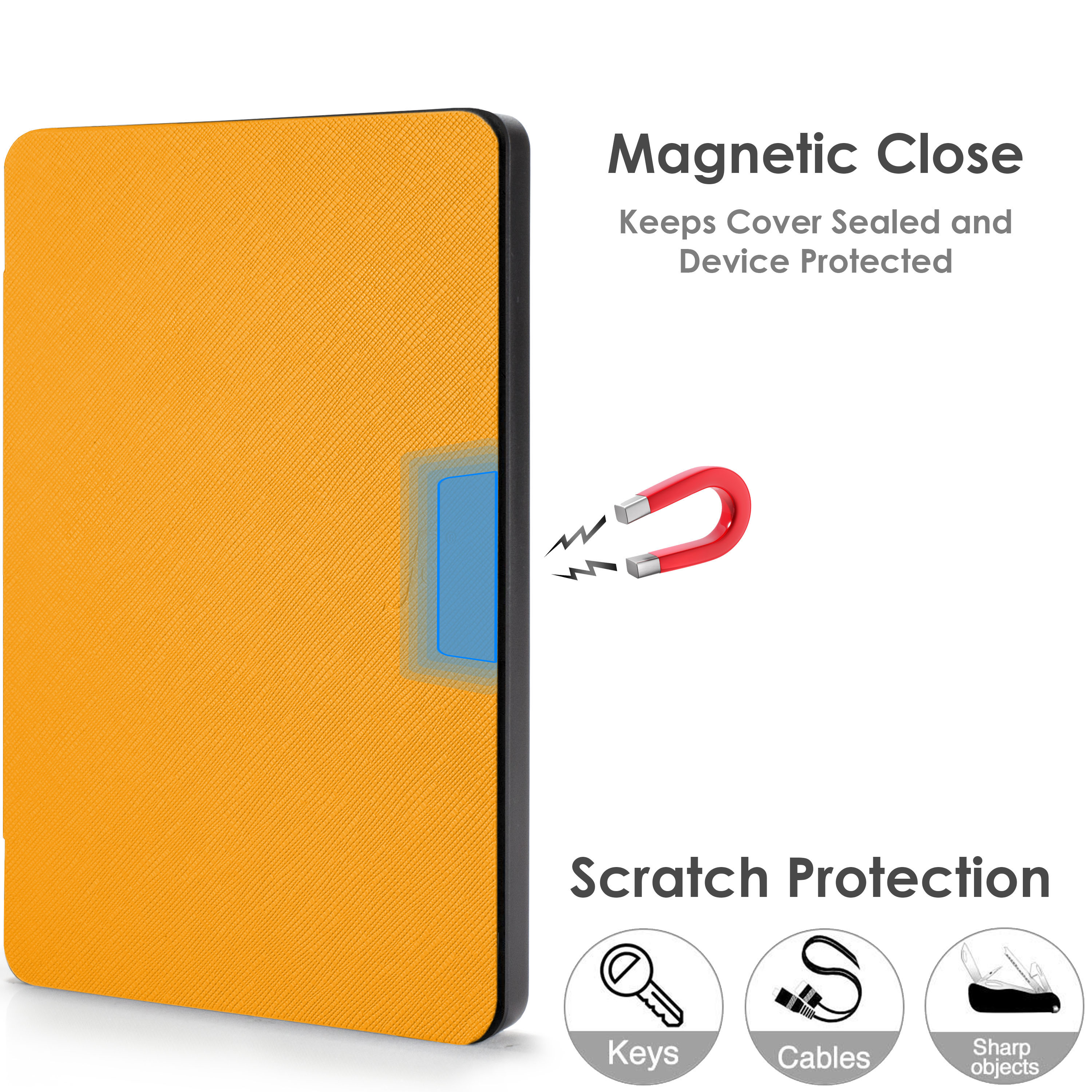 Kindle-Paperwhite-2018-Case-Smart-Protective-Cover-Case-Slim-Lightweight-Shell miniatuur 103