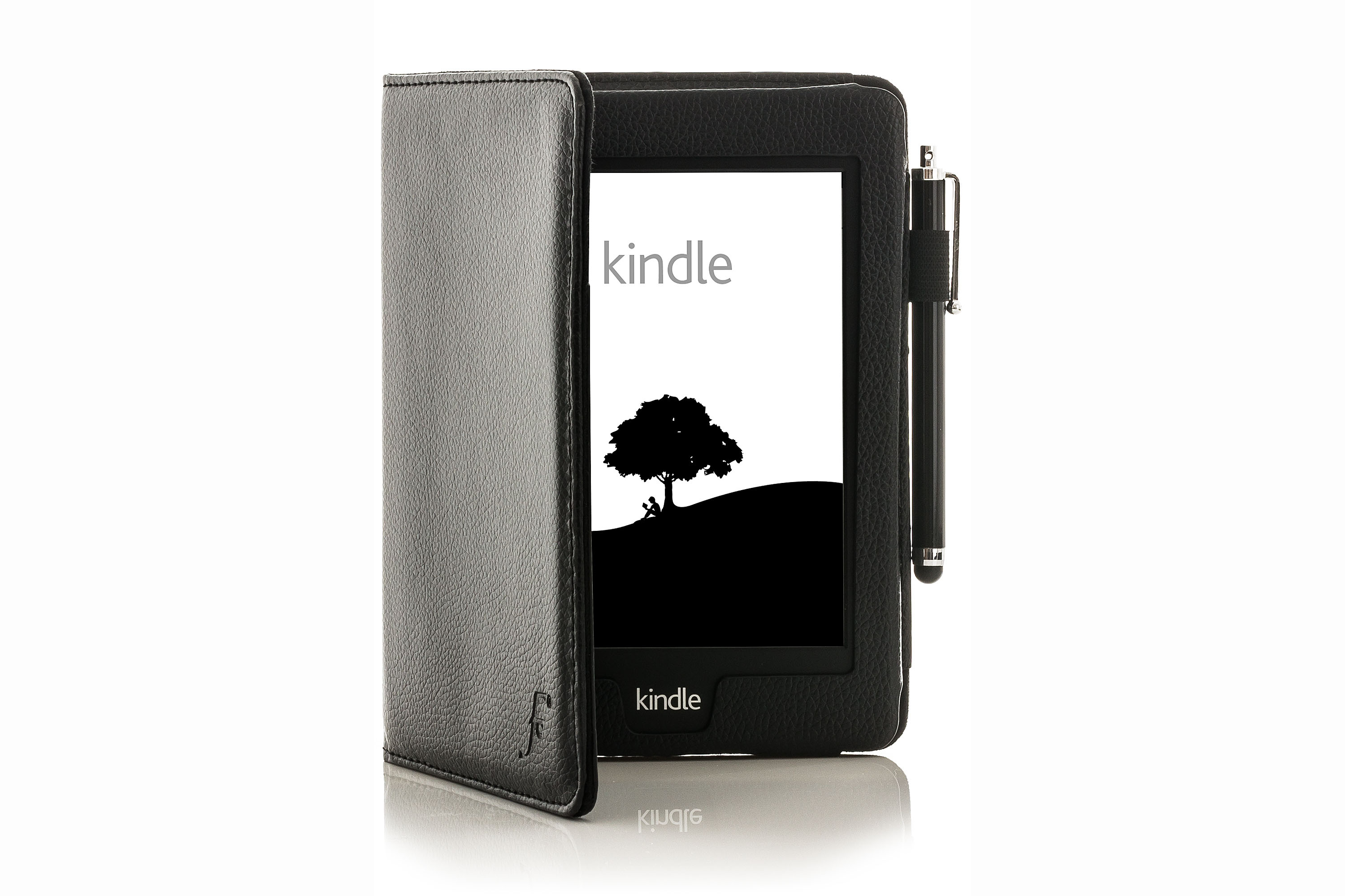 Leather Strap Smart Case Cover For Amazon Kindle