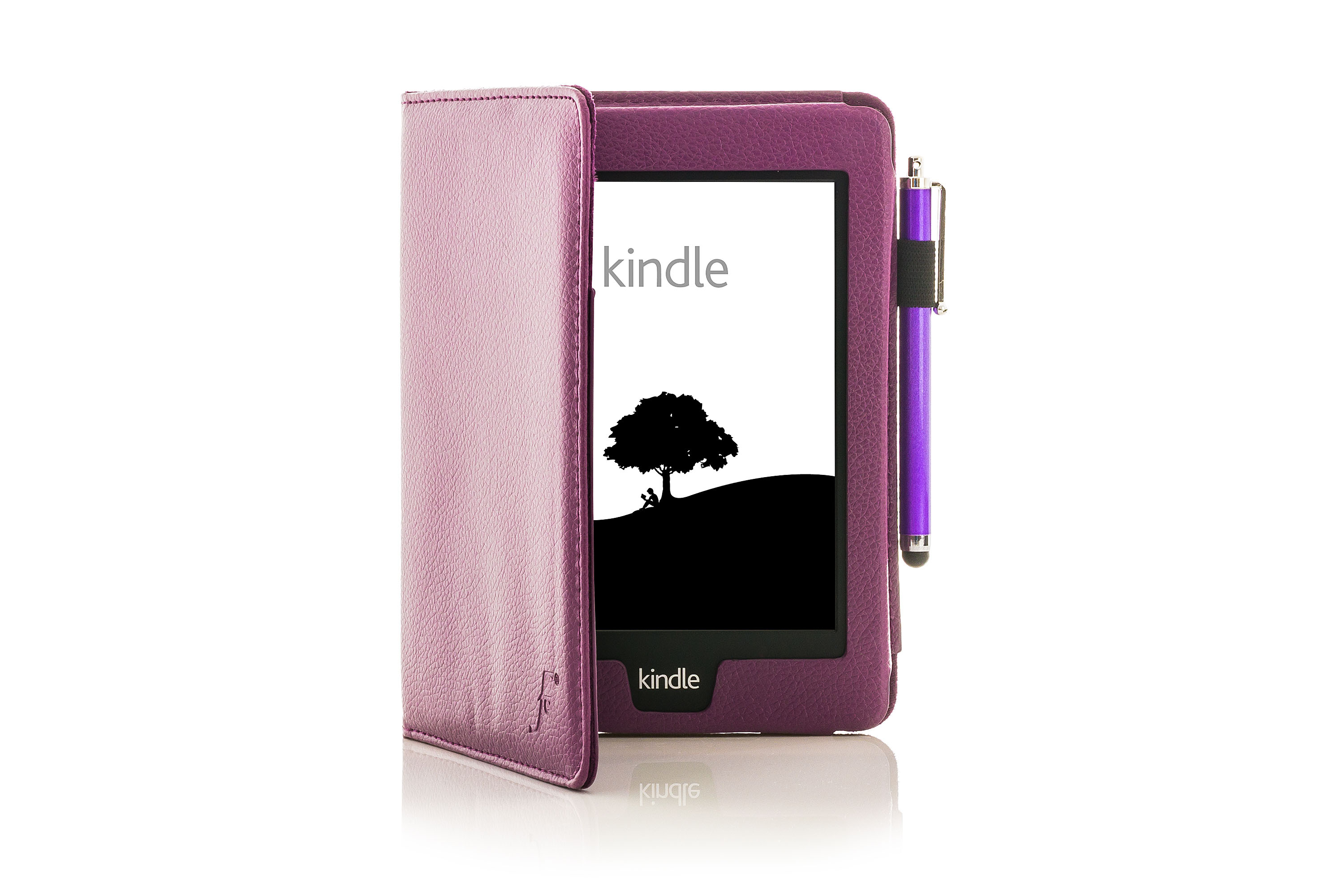 Leather Smart Case Cover For Amazon Kindle Paperwhite 2015