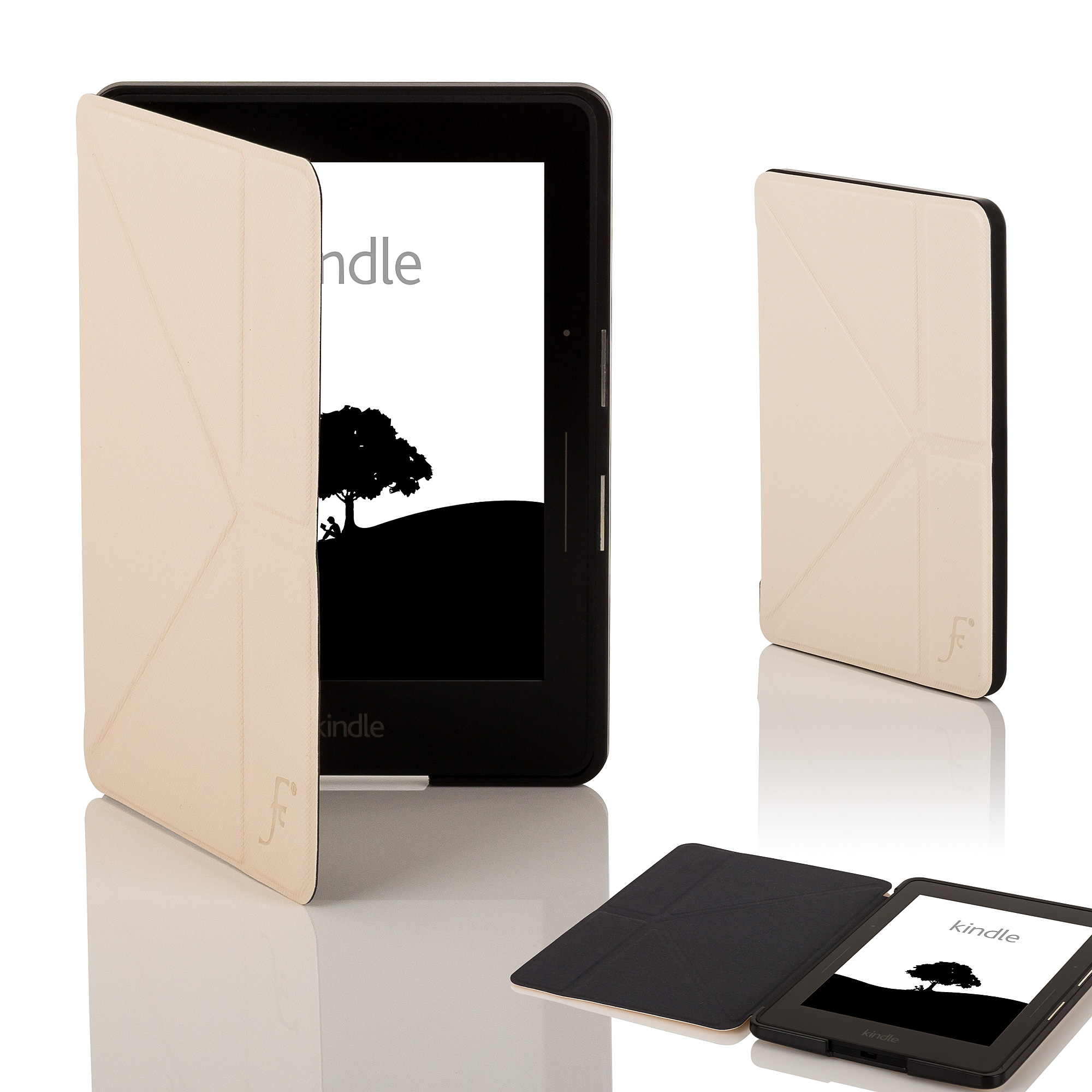 Leather Smart Origami Case Cover for Amazon Kindle Voyage ... - photo#24