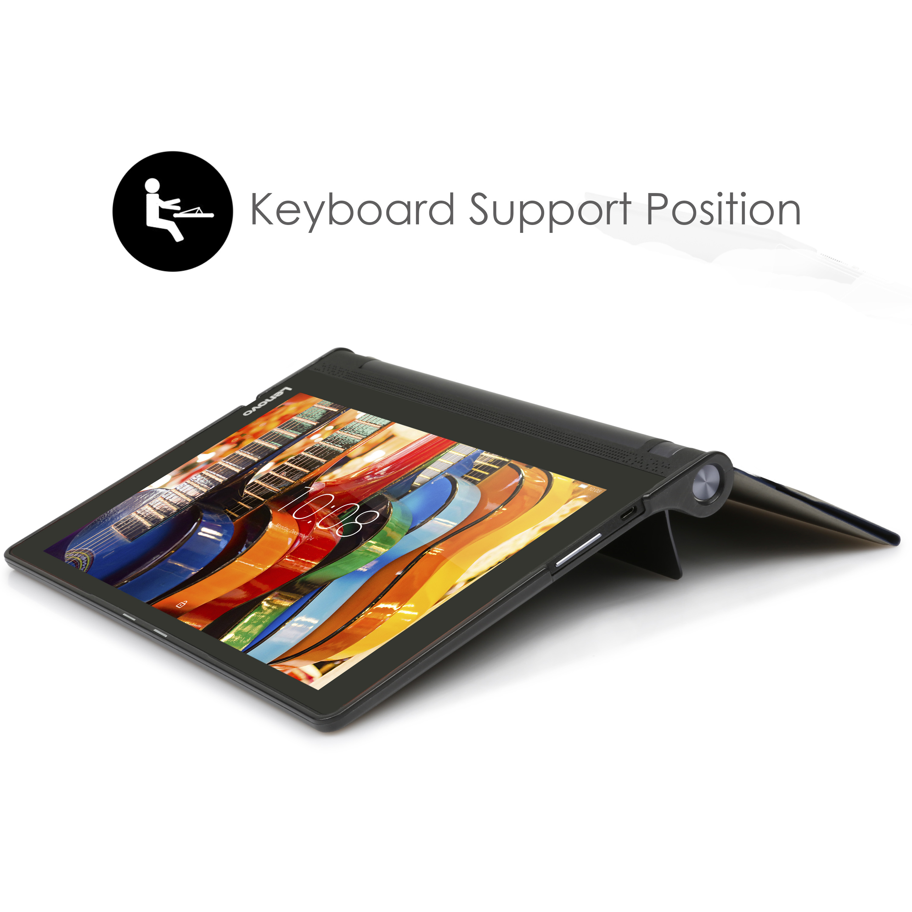 new concept 90f9a ff9b8 Details about Forefront Cases® Folding Smart Case Cover Stand Lenovo Yoga  Tab 3 Pro 10.1 X90
