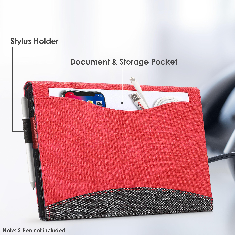 miniatura 25 - 7/6/5/4 Microsoft Surface Pro Custodia, Copertura, stand + Stylus, Protezione Schermo
