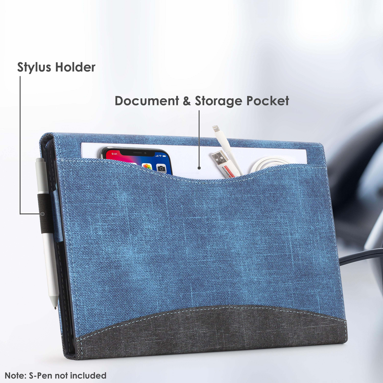 miniatura 34 - 7/6/5/4 Microsoft Surface Pro Custodia, Copertura, stand + Stylus, Protezione Schermo