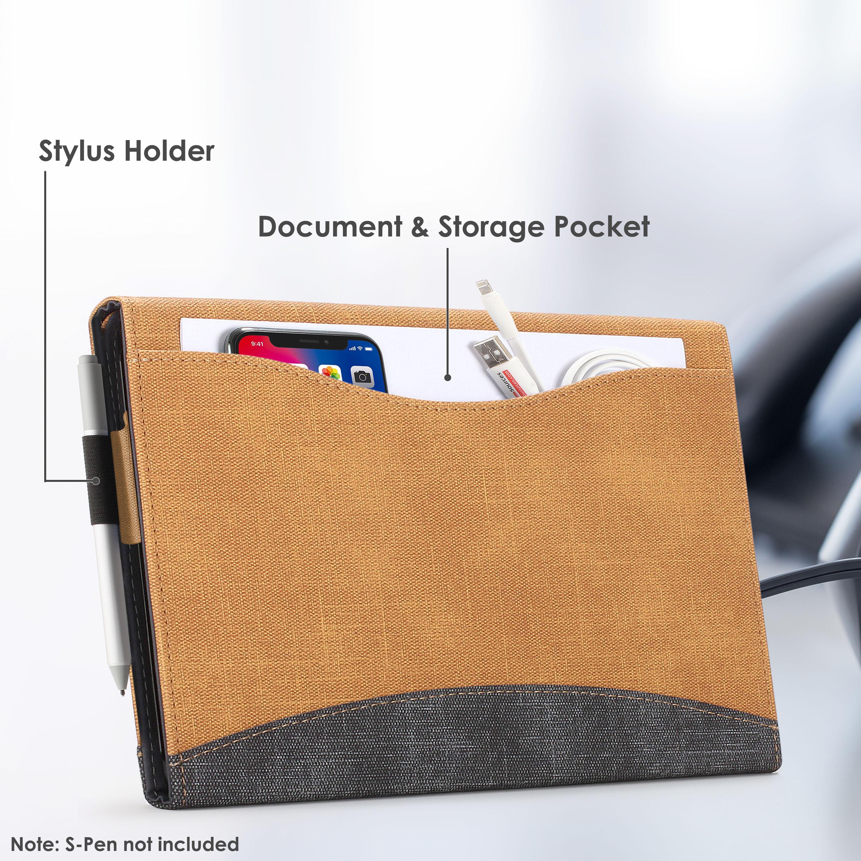 miniatura 43 - 7/6/5/4 Microsoft Surface Pro Custodia, Copertura, stand + Stylus, Protezione Schermo