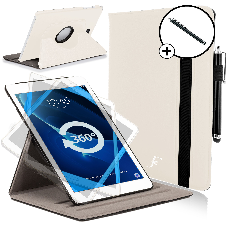14985eea2f5 Vanguardia Cases® blanco giratorio funda para Samsung Galaxy Tab A 10.1 SM-T580  con lápiz