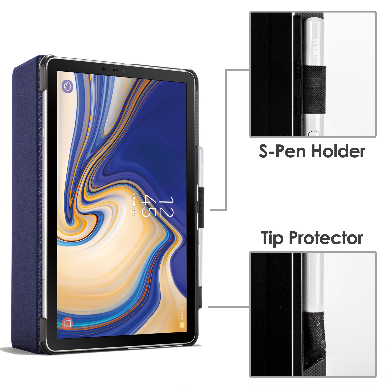 Samsung-Galaxy-Tab-S4-10-5-Estuche-Cubierta-para-Galaxy-Tab-S4-T830-Stylus-Pantalla-Prot miniatura 30