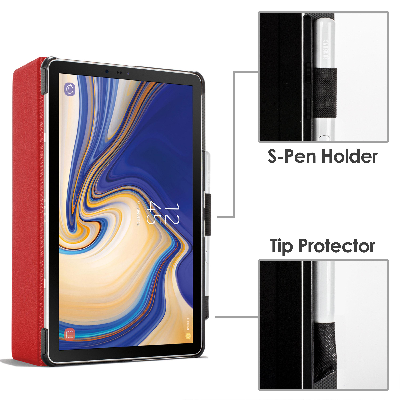 Samsung-Galaxy-Tab-S4-10-5-Estuche-Cubierta-para-Galaxy-Tab-S4-T830-Stylus-Pantalla-Prot miniatura 62