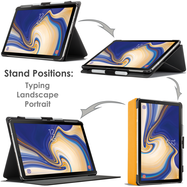Samsung-Galaxy-Tab-S4-10-5-Estuche-Cubierta-para-Galaxy-Tab-S4-T830-Stylus-Pantalla-Prot miniatura 101